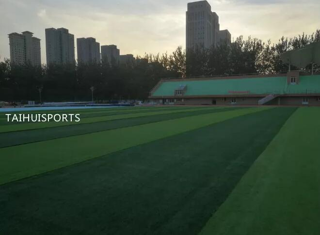 Double-Sided Grooved Customized Thickness Shock Pad Water Proof Underlay For Artificial Grass Of Multiple Purpose