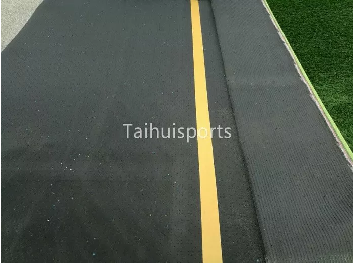 PE Foam Soccer Rugby Hockey Playground Pitch 20 MM Crosslink Sheets Artificial Turf Shock Pad 10-20 thickness