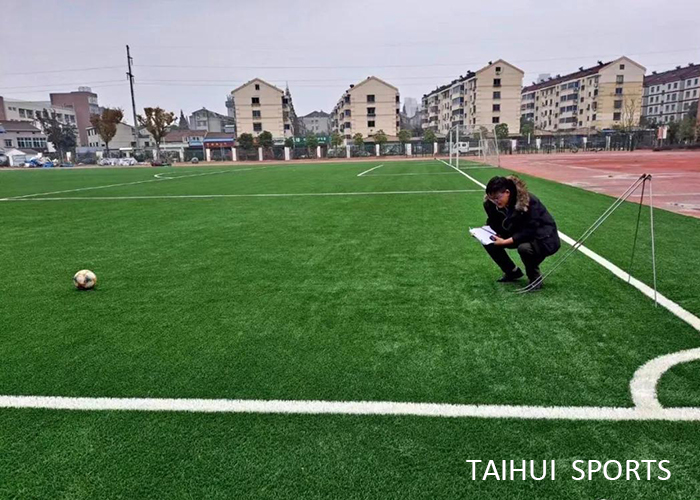 Taihui Sports has completed another FIFA certificated venue |Changzhou Tianjiabing Senior school(图6)