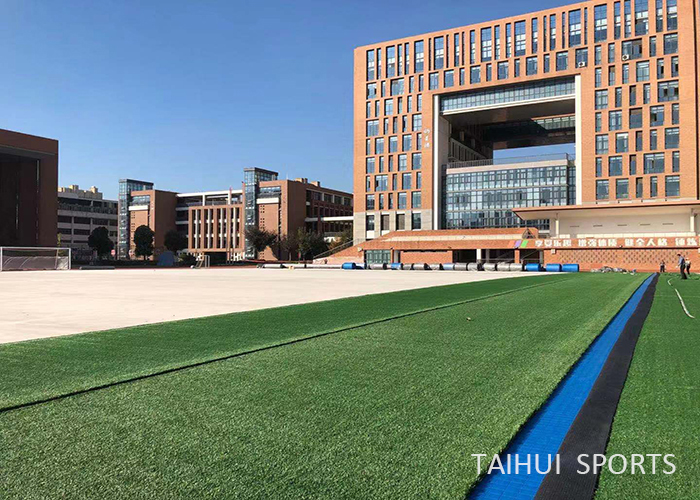 Taihui Sports has completed another FIFA certificated venue |Changzhou Tianjiabing Senior school(图1)