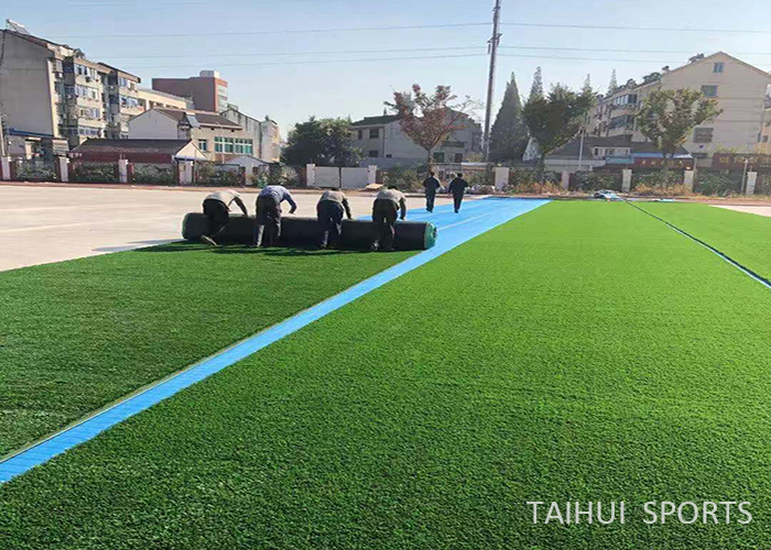 Taihui Sports has completed another FIFA certificated venue |Changzhou Tianjiabing Senior school(图3)