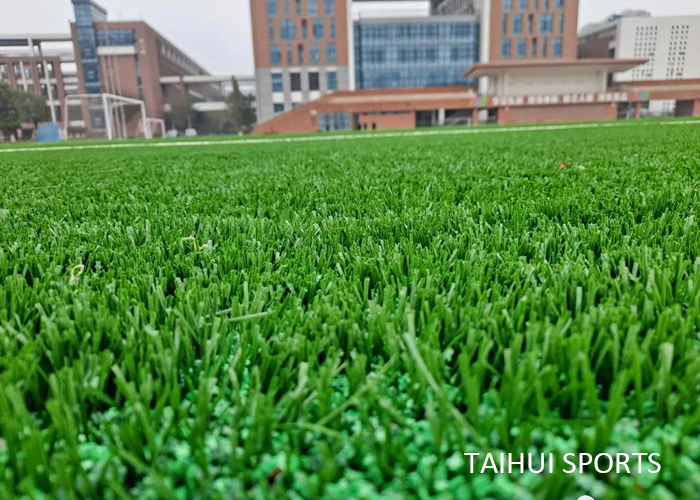 Taihui Sports has completed another FIFA certificated venue |Changzhou Tianjiabing Senior school(图2)
