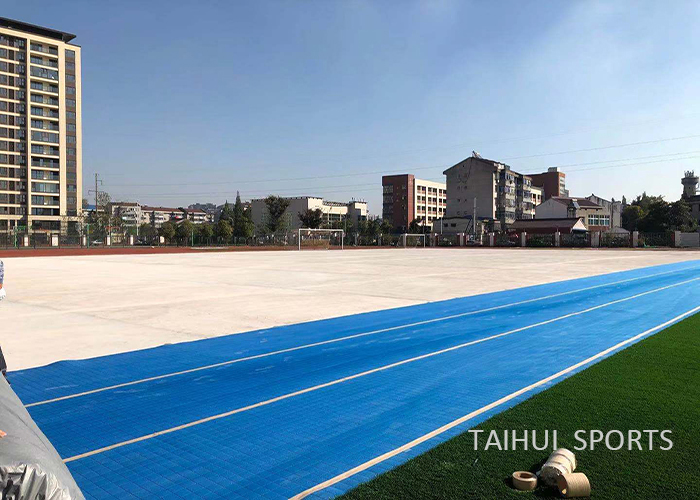 Taihui Sports has completed another FIFA certificated venue |Changzhou Tianjiabing Senior school(图5)